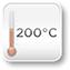 200 Grad Celsius